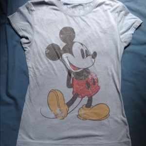 Blue Mickey Mouse Shirt
